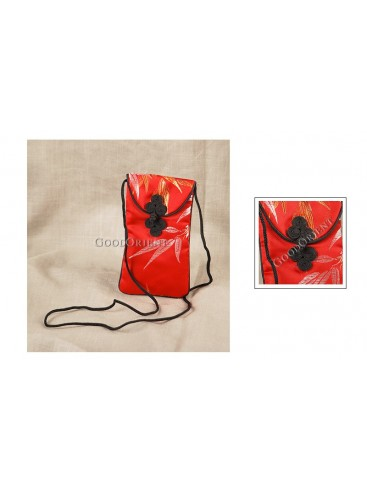 Graceful Red Cellphone Bag
