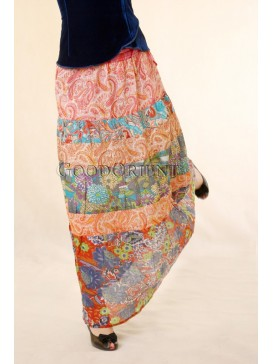 Multi-color Beautiful Nepal Dancing Skirt