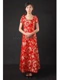 Glorious Chinese Red Wedding Dress