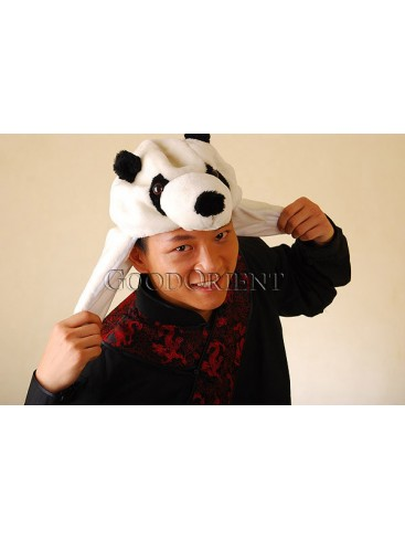 Plush Kungfu Panda Stuffed Hat