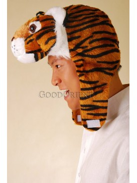 Safety King Tiger Stuffed Hat