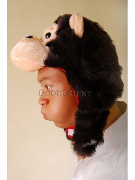 Cute King Kang Stuffed Orang Hat
