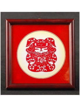 Fu Wawa Handmade Papercut --- Happy Baby Boy