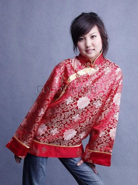 Chinese Red Butterfly Jacket