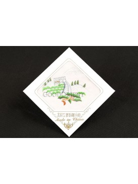 Great Wall Handmade Embroidered Handkerchief