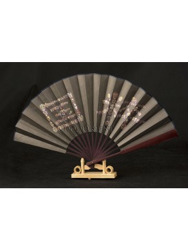 Folding Fan --- Facial makeup of Peking Opera