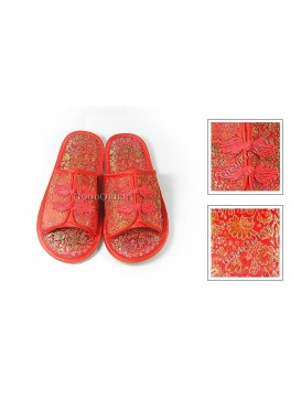 Comfortable Brocade Women Slipper