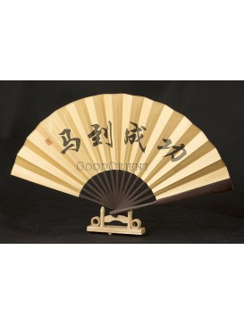 Folding Fan --- Eight running horses