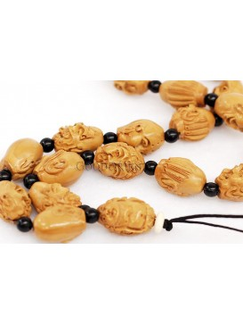 Olive Seed Buddhism Arhat Necklace