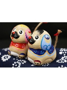 Handmade Clay Figurines --- Loyalty Dog