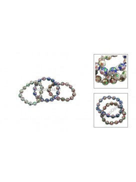 Magnificent Cloisonne Beads Bracelets