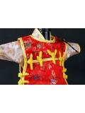 Chinese Qing Dynasty Wine Bottle Cover--Pale Yellow