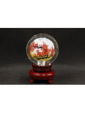 Inner Painting--Noble Plum Blossom Crystal Ball