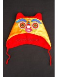 Strong Yellow Wadded Tiger-head Hat