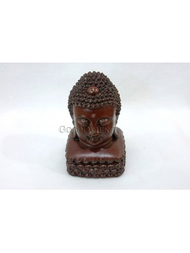 Purple Clay Buddha Incense Burner