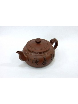 Magical And Peaceful Purple Clay Teapot
