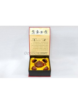 In Harmony Yixing Purple Clay Tea Set