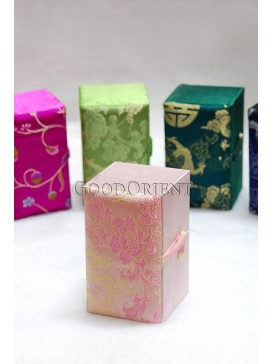 Essential Oil In A Silk Brocade Box