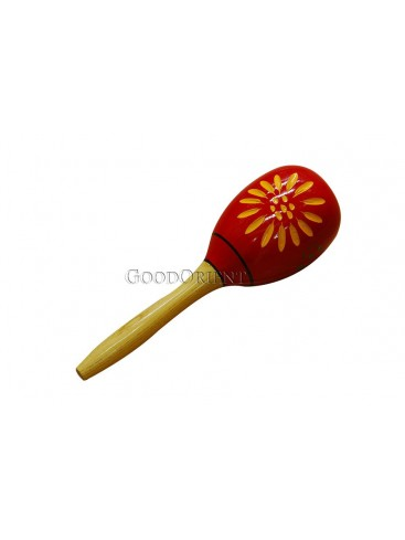 Red And Beige Wood Hand Hammer