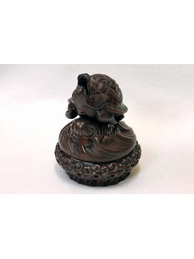 Incense Burner- A Turtle Looking Up The Sky
