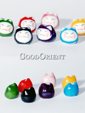 Funny Maneki Neko In Seven Colors/Pcs