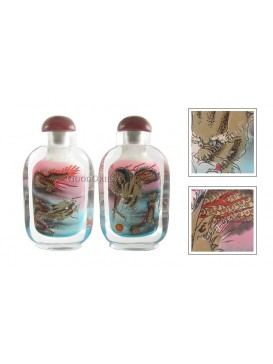 Dragon In Clouds Snuff Bottle