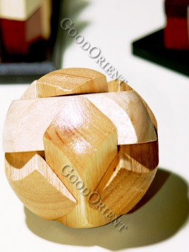 Wooden Round Eight Angle Ball