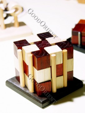 Wooden Six Column Building Block
