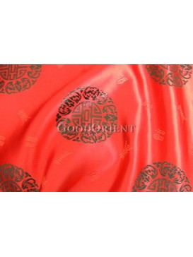 Chinese Fu & Shou Fabric