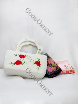Picturesque Beaded Bag