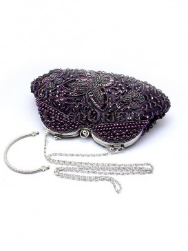 Pure Magnificent Beaded Bag