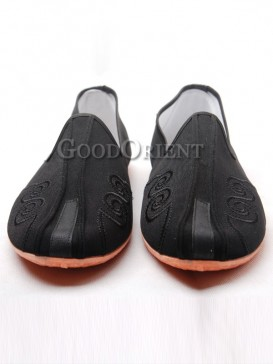 Beijing Traditional Cloth Shoes With Cloud Pattern