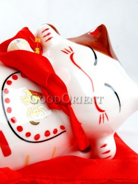 Maneki Neko Piggy Bank Series---Cute Cat