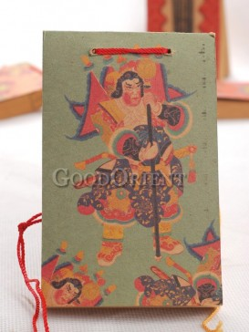 Mythic Figures Kraft Paper Notebook