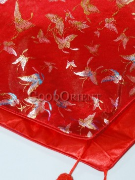 Red Butterfly Table Runner