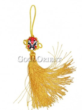 Handmade Hanging ornaments---Chinese Opera Mask