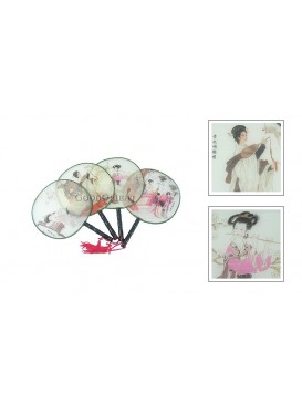 Chinese Ancient Palace Fan---Ancient Beauty