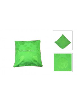 Chinese Longevity Cushion Cover---Kelly