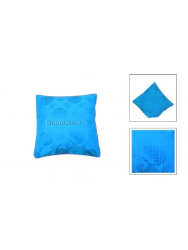 Chinese Longevity Cushion Cover---Blue