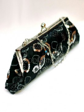 Silk Sequin Handbag