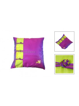 Little Golden Fish Cushion Cover---Purple