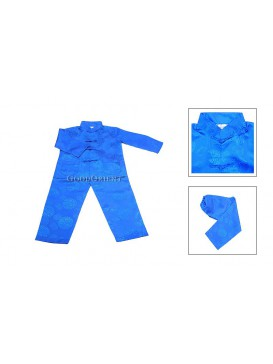 Chinese Kung Fu Matching Set---Blue