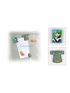 Rubber Refrigerator Magnets---Chinese Vase