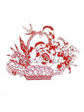 Beautiful Flowers Papercut