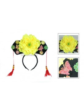 Girl Hair Decoration---Yellow