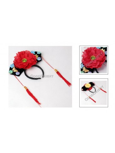 Girl Hair Decoration---Red