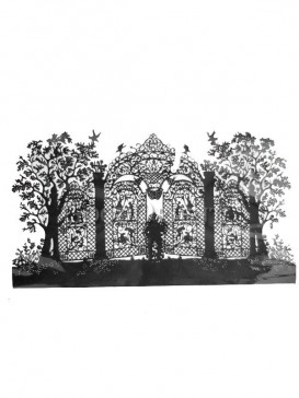 Black Gate Papercut