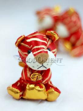 Red Lucky Tiger Hanging Decoration For The New Years