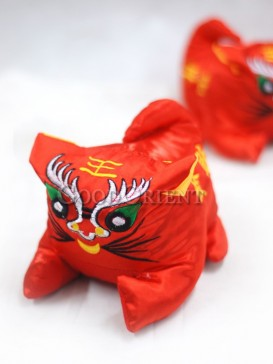 The Rich Red Tiger For The New Year