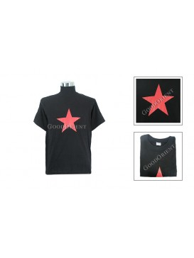 Simple Red Pentacle T-shirt